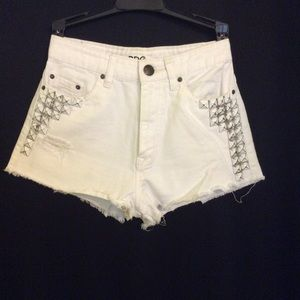 BDG Urban Outfitters High Rise Dree Cheeky Shorts